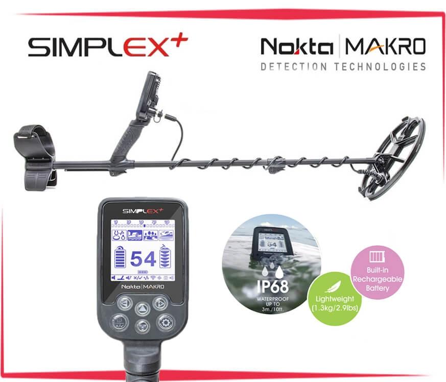 Nokta Simplex + (водонепроницаемый) - 1